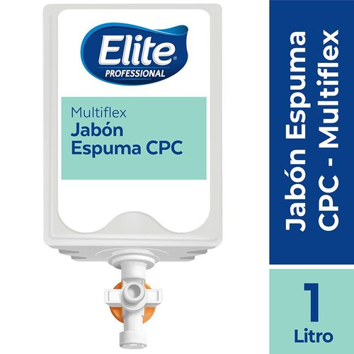 Jabón Multiflex Espuma Cpc 1 Un 1 litro Elite Professional