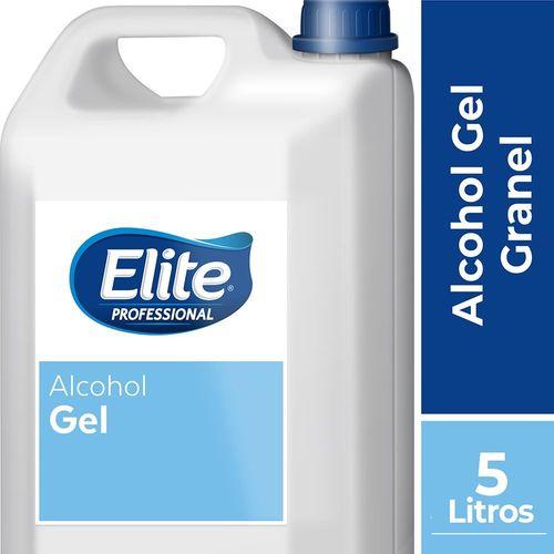 Alcohol Granel Gel 1 galonera 5 litros Elite Professional