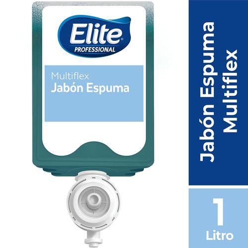 Jabón Multiflex Espuma 1 Un 1 litro Elite Professional