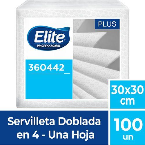 Servilleta Doblada Plus Una Hoja 100 Un Elite Professional