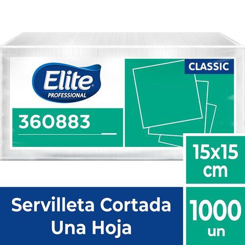 Servilleta Cortada Classic Una Hoja 1000 Un Elite Professional