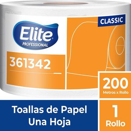 Toalla Rollo Classic Una Hoja 1 Un 200 M Elite Professional