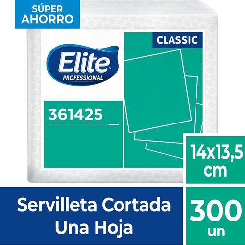 Servilleta Cortada Classic Una Hoja 300 Un Elite Professional