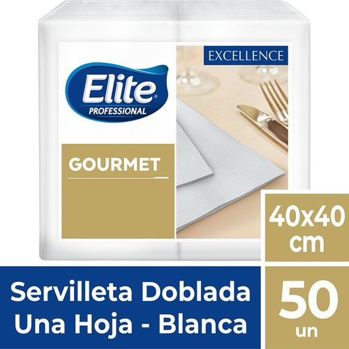 Servilleta Gourmet Excellence Una Hoja 50 Un Elite Professional