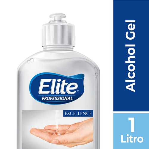 Alcohol Granel Gel 2 Un 1 litro Elite Professional