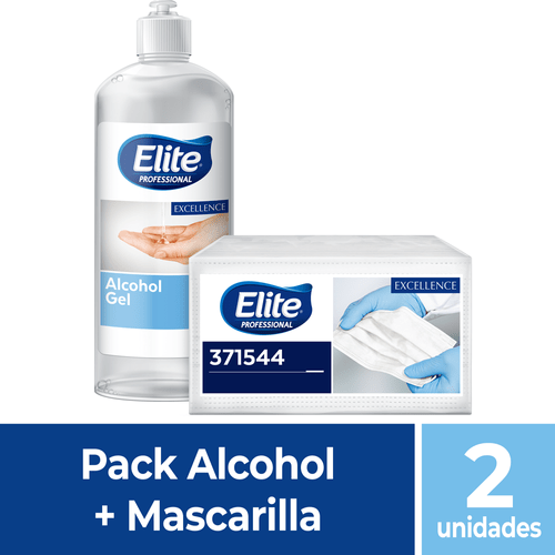 Pack alcohol + Mascarillas